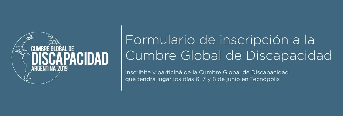 Cumbre global de Discapacidad 2019