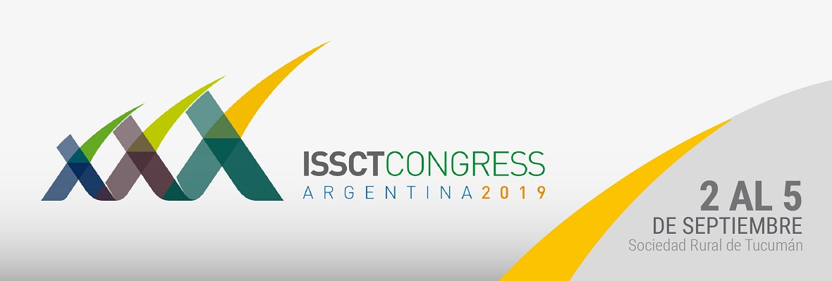 XXX International Society of Sugar Cane Technologists Congress Argentina 2019