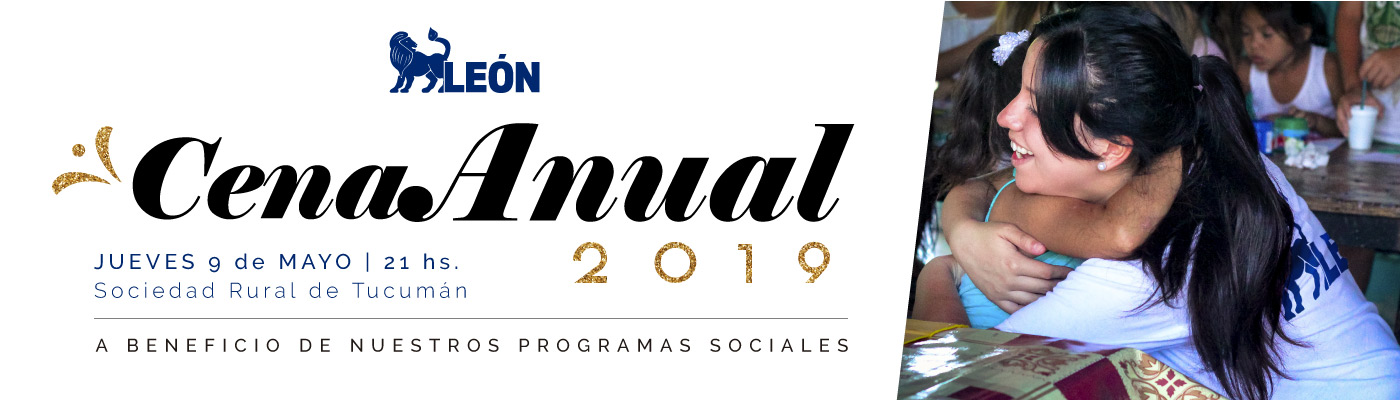 Cena Anual 2019 - Fundación León